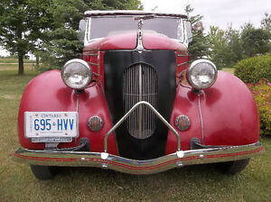 "1936 Ford kustom New Old Stock grille shell  ""Pines Winterfront"" London Ontario image 2"