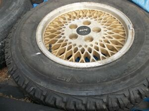 4 jeep rims and tires