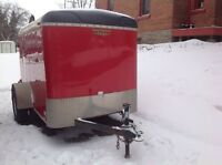 2010 Enclosed 5 x 8 Trailer