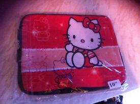 """Hello kitty iPad/tablet cover new 10"""""""
