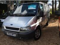 FORD TRANSIT 280S 100ps px to clear, no vat, Silver, Manual, Diesel, 2002