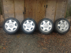 VW Aluminium Rims C/W tires