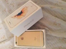 iPhone 6s 32 gig unlocked rose gold