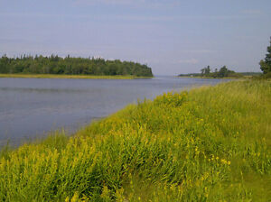 Victoria West Waterfront Property for sale 20 acres PEI Canada