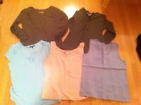 Ladies size small summer tops.