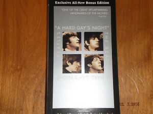 """THE BEATLES: """"A HARD DAY'S NIGHT"""" VHS"""