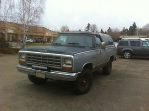 1983 Ramcharger 4wd