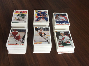 Lot of Upper Deck and Pinnacle NHL Hockey Trading Cards