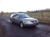 24/7 Trade sales NI Trade Prices for the public 2002 Volkswagen Passat 2.8 V6 4 Motion Estate Grey