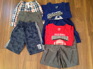 Boys summer clothes size 5/6