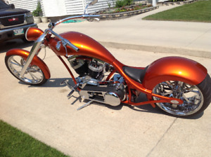 Custom Chopper - Reduced Price - Must Sell