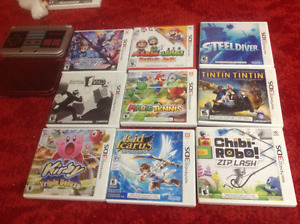 3ds games and systems for sale