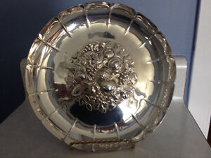 Vintage Sheffield Silver Plate Tray