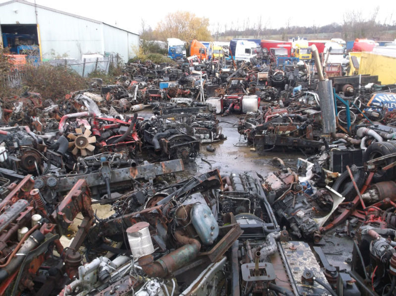HGV VEHICLES DISMANTLED VARIOUS ENGINES GEARBOXES AXLES & SPARES FOR MOST HGV'S