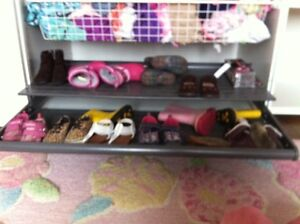 Ikea pax wardrobe shoe storage drawer