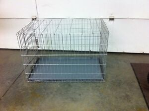 Dog cage and bird cage $40 each