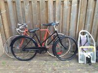 Cruiser and road bike ($80 each obo)
