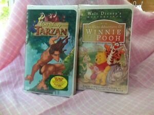 Never been opened Disney videos VCR $5-$35 Peterborough Peterborough Area image 1