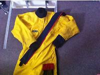 Dry suit. Sailing canoe kayak