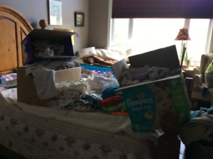Huge lot cloth diapers CHEAP!
