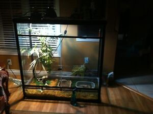 Lizard terrarium 4 Feet long/ 4 high and 2 1/2 foot wide
