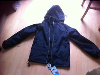 Men's hooded jacket brand new with tags size small