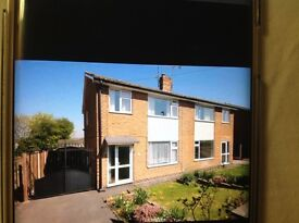 3 bed semi in Newbold Chesterfield