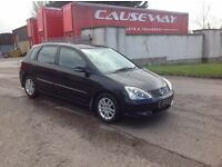 24/7 Trade sales NI Trade prices for the public 2005 Honda Civic 1.6 i_Vetec Executive black