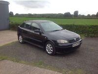 2003 Vauxhall Astra 1.6 black motd March 17