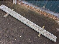 """Concrete Gravel Board 6' x 6"""""""