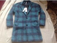 Brand new Atching ladies coat blue size 14 new £8