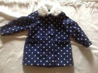 Young dimension girls coat age: 5/6 yrs used £4