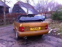 Ford escort xr3i cabriolet 1989!