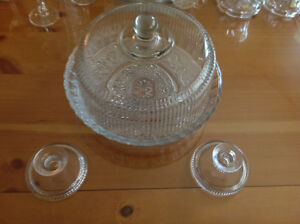 Various Crystal / Hand Made Wine Glasses / Candle Holders