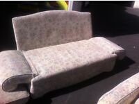 2 seater sofa / single daybed : free Glasgow delivery