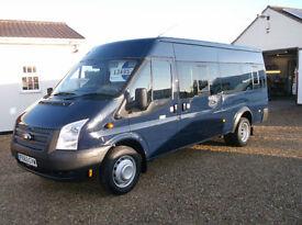 Ford TRANSIT 135 T430 RWD 17 seat mini bus