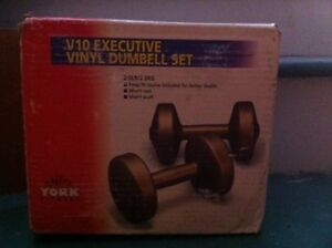 Two 5 pound dumbells