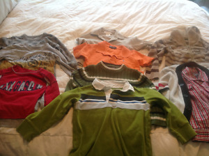 10 boys size 4 brand nam shirts