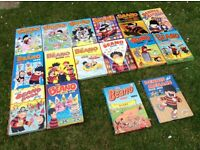 Old Beano annuals