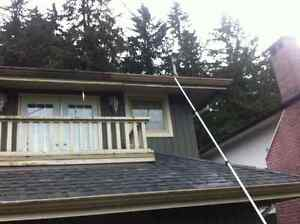 Gutter And Siding Scrubbing (No Chemicals Or Ladders) North Shore Greater Vancouver Area image 2
