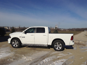 2016 DODGE RAM 1500 SPORT CREW CAB 4X4 NAV BACK UP CAM