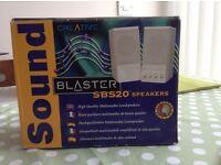 Sound blaster multimedia speakers