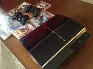 PS3 80 GB backwards compatible console Kitchener / Waterloo Kitchener Area image 3