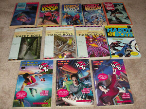 Hardy Boys books (vintage and newer)-REDUCED