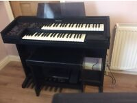 Technics SX- EX5L , electronic organ , double manual , bass pedals .£155 or swop ?