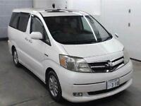 FRESH IMPORT 55 PLATE FACE LIFT TOYOTA ALPHARD ESTIMA 2.4 HYBRID PETROL/ELECTRIC