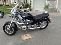 BMW R1200 motorcycle