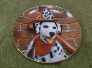 Marty Roper Numbered Limited Edition Dalmatian Collectors Plate
