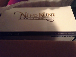 Ni No Kuni: Wrath of the White Witch Wizard's Edition (NEW/MINT)