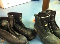 CSA approved steel toe boots